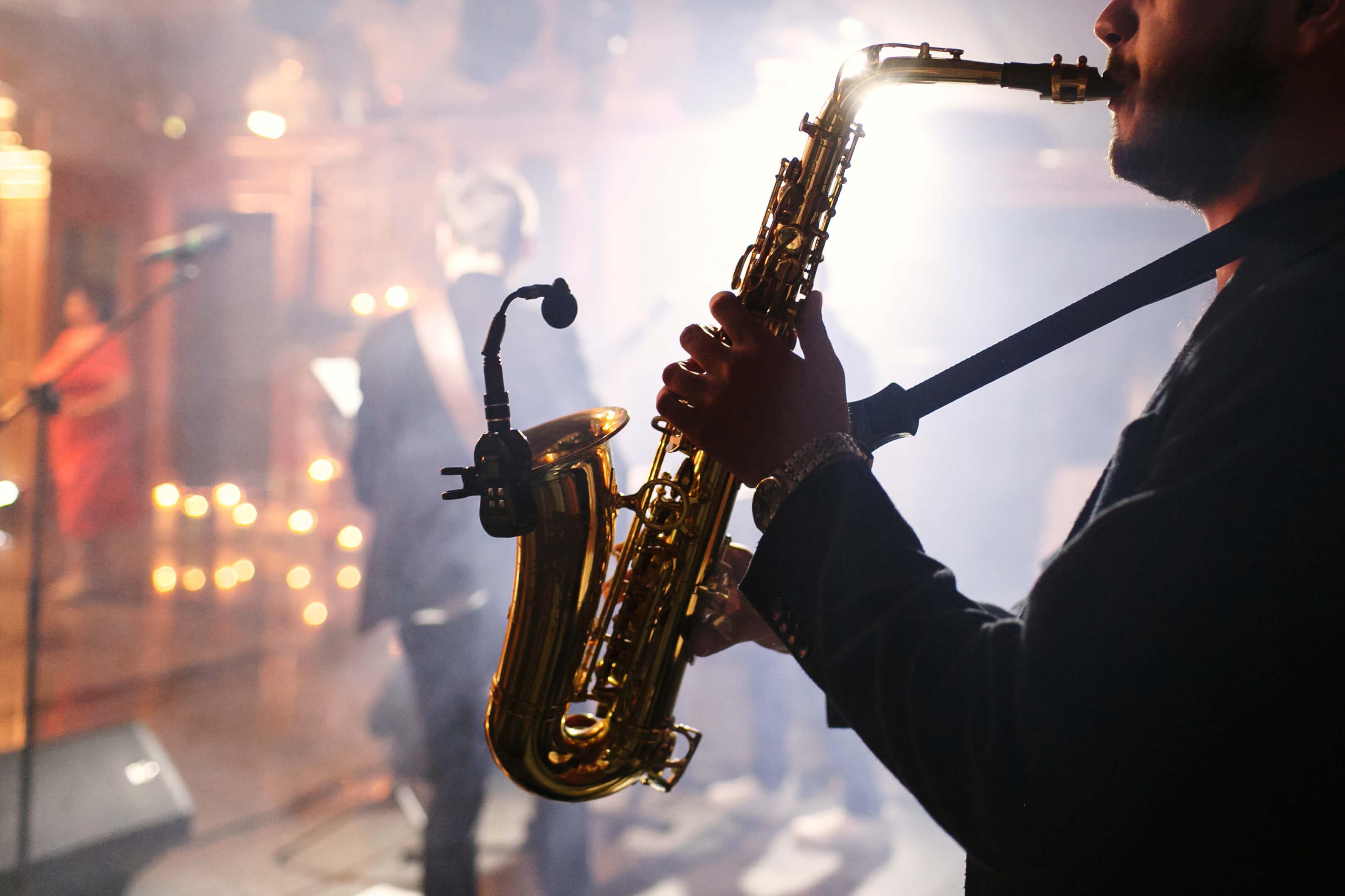 Momente artiistice pentru nunta - saxofon