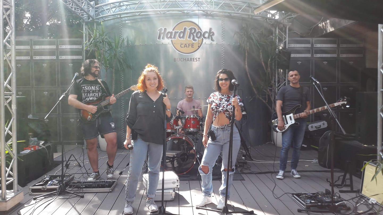 Trupa Life on Mars la Hard Rock Cafe Bucuresti septembrie 2018