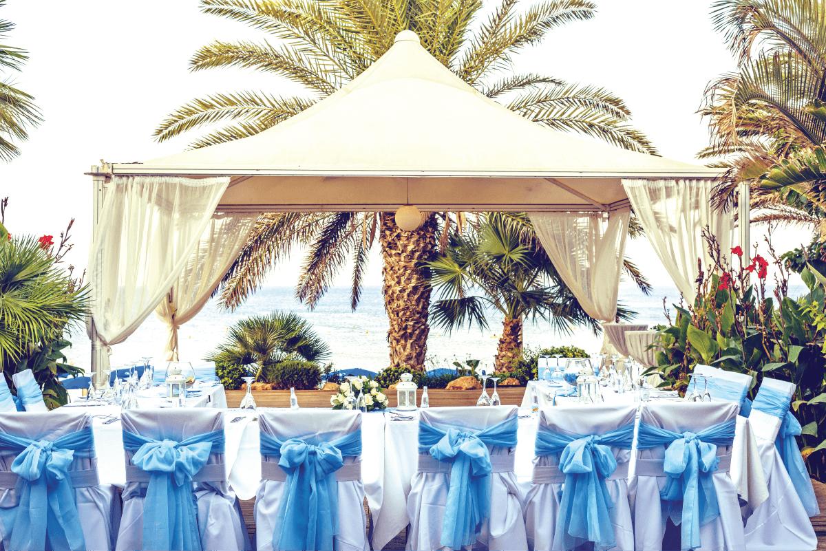 setup locatie nunta